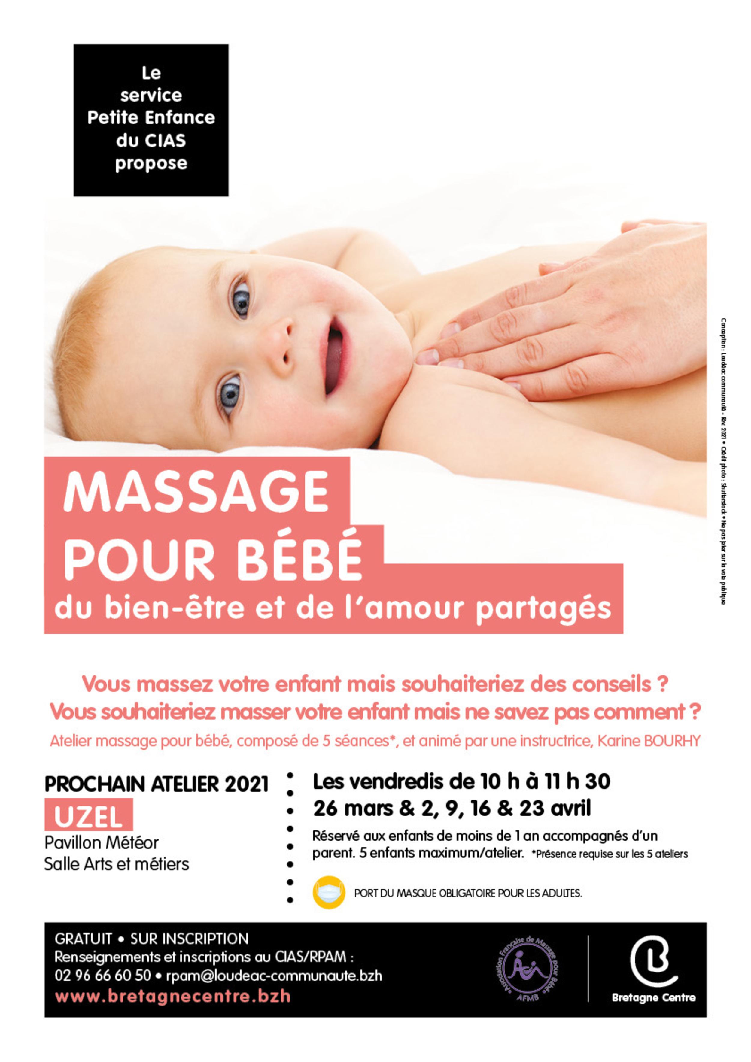"""Atelier """"Massage pour bébé"""""""