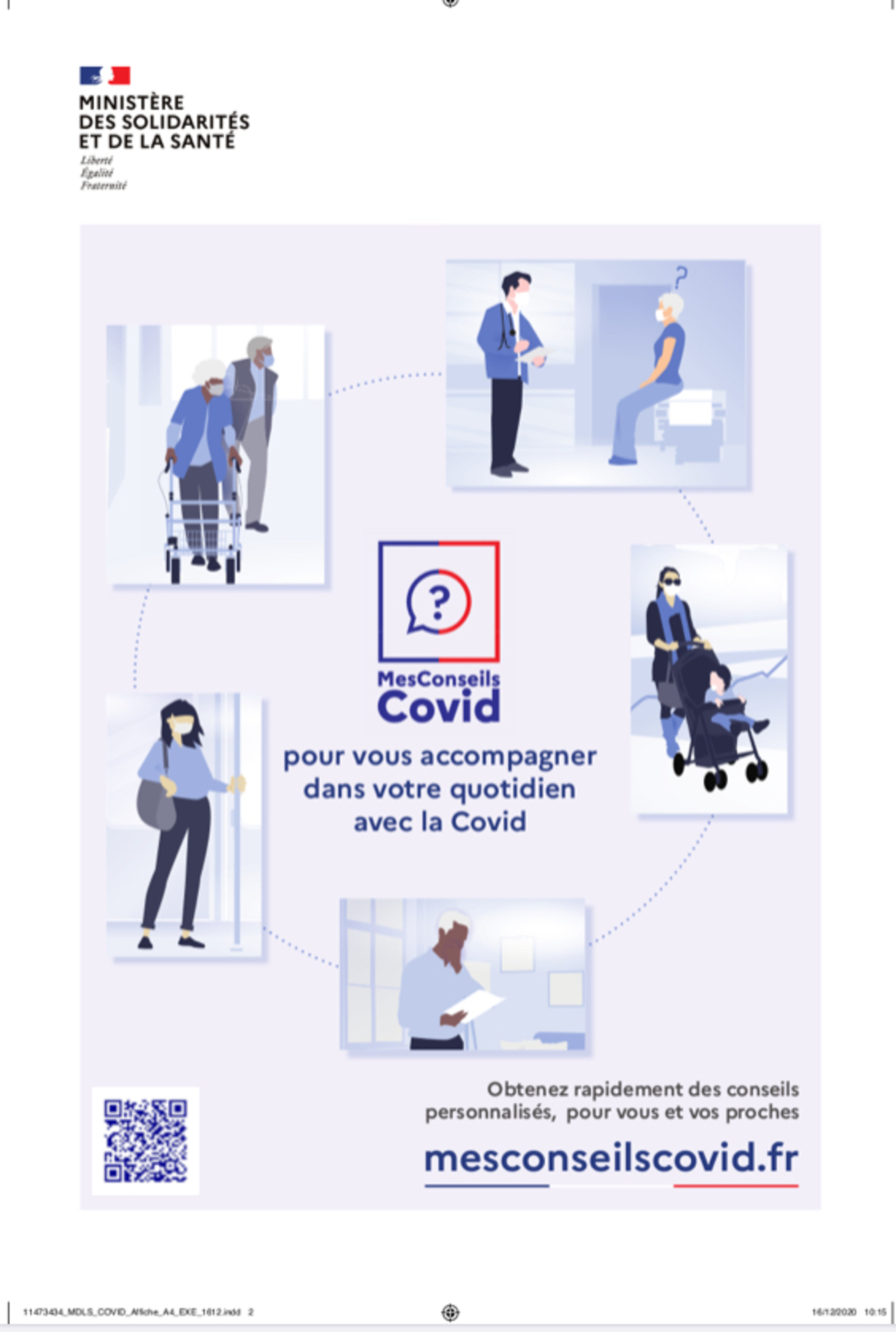 Site d'accompagnement COVID