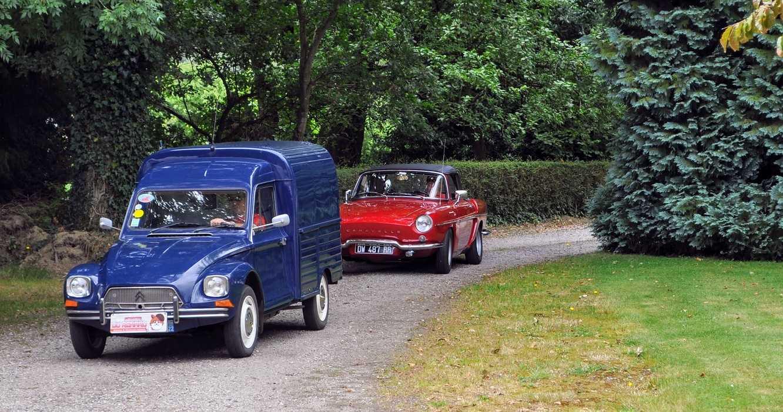 1 août 2020 : passage de véhicules anciens - Saint Martin des Prés dsc0416