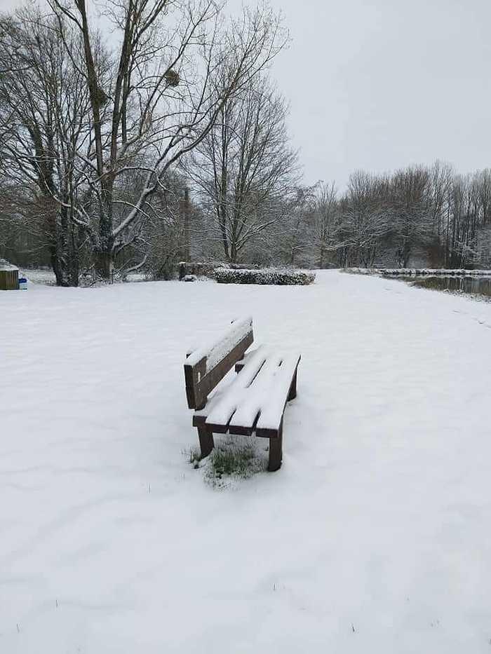 La neige à Saint-Martin-Des-Présfevrier 2021 leplandeau2