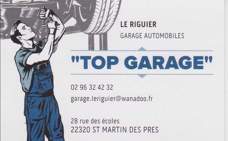 """Saint-Marin-Des-Prés: : """"Top Garage Le Riguier"""" 0"""