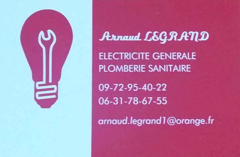 Saint-Marin-Des-Prés : Arnaud LEGRAND - électricité générale, plomberie sanitaire 0