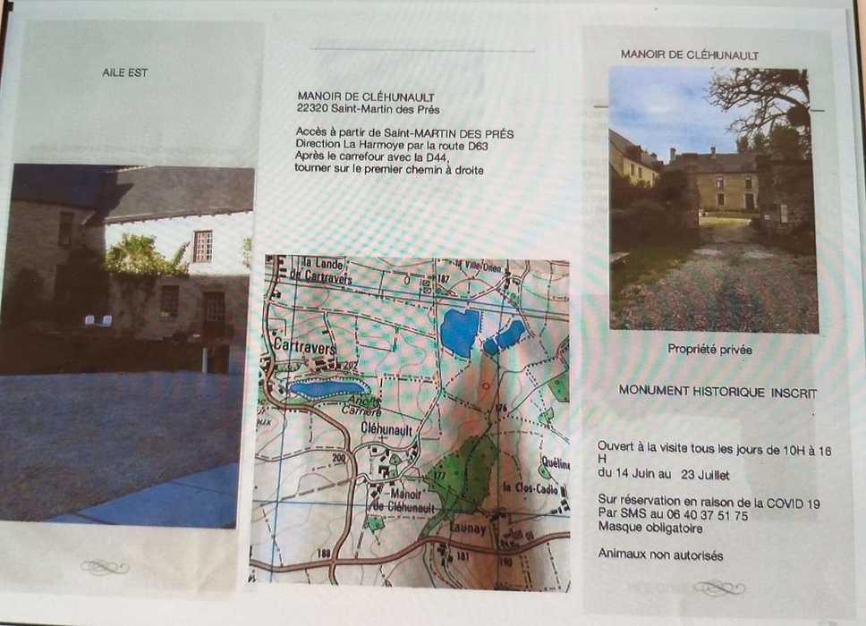 MANOIR DE CLÉHUNAULT - SAINT MARTIN DES PRÉS received539330810781526